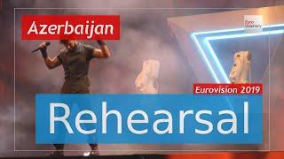 Chingiz - Truth - Eurovision 2019 Azerbaijan (Rehearsal)