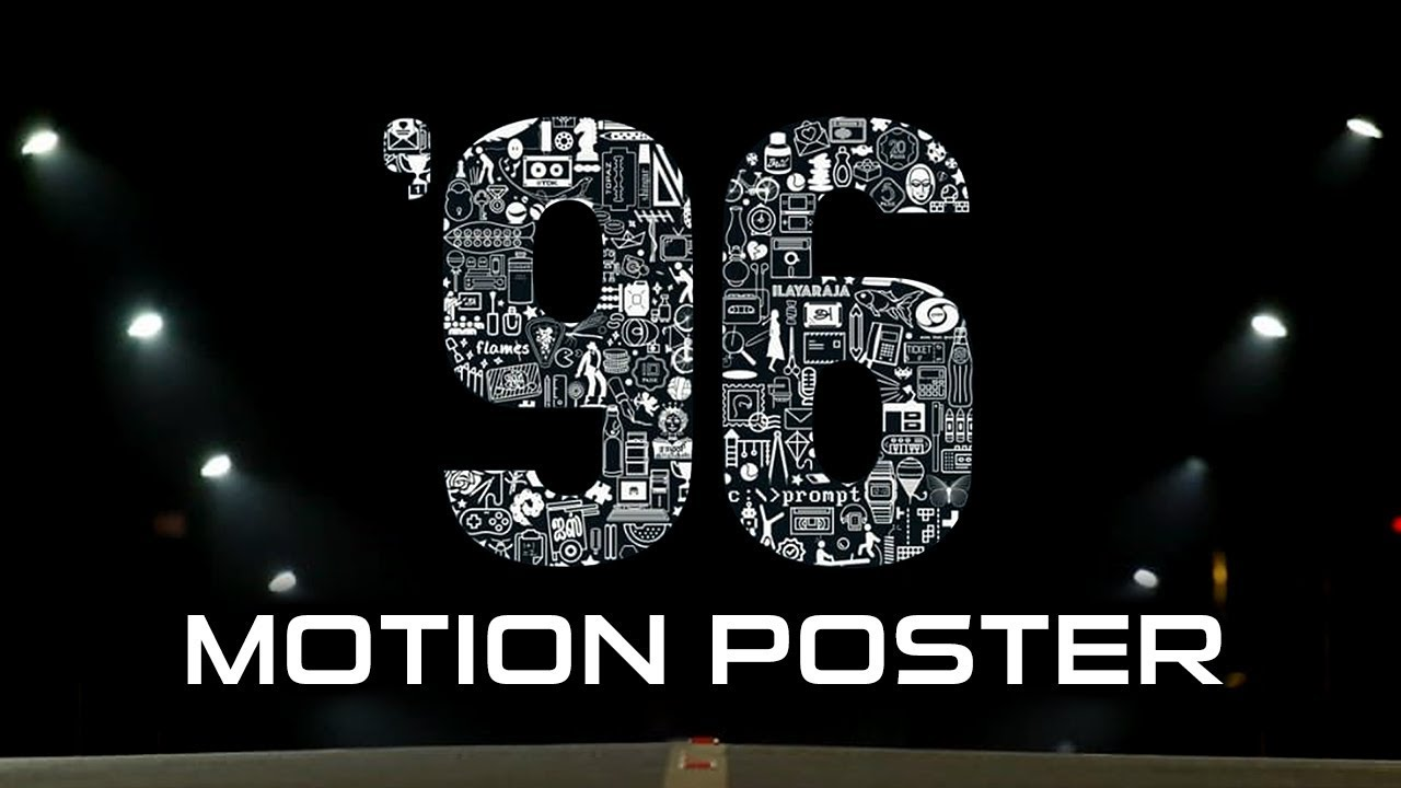 96 (2019) Official Hindi Dubbed Motion Poster | Vijay Sethupathi, Trisha Krishnan