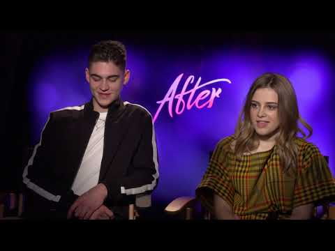 Hero Fiennes Tiffin & Josephine Langford Interview: After