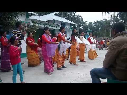 Traditional Bodo dance (Christmas Carol)