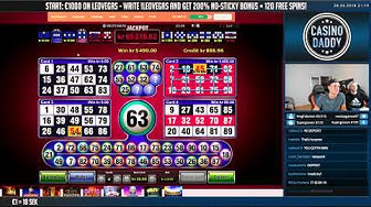 BIG WIN!!! BRUNO BINGO Huge win - Casino Games - free spins (Online slots)