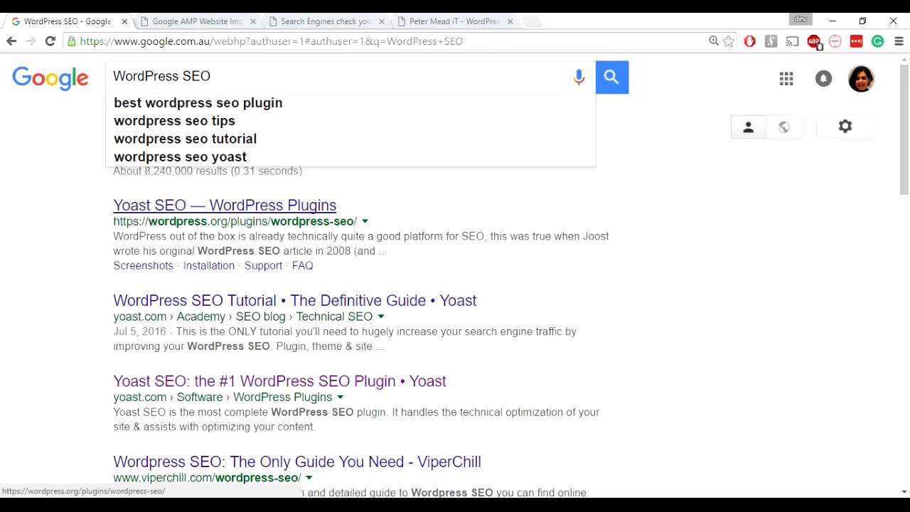 Basic SEO tips to optimise your WordPress website on Search Engine