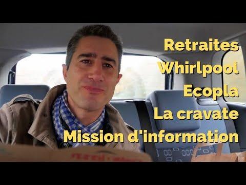 Bulletin mobile et automobile ! (Retraites, Whirlpool, Mission d'information & Ecopla)
