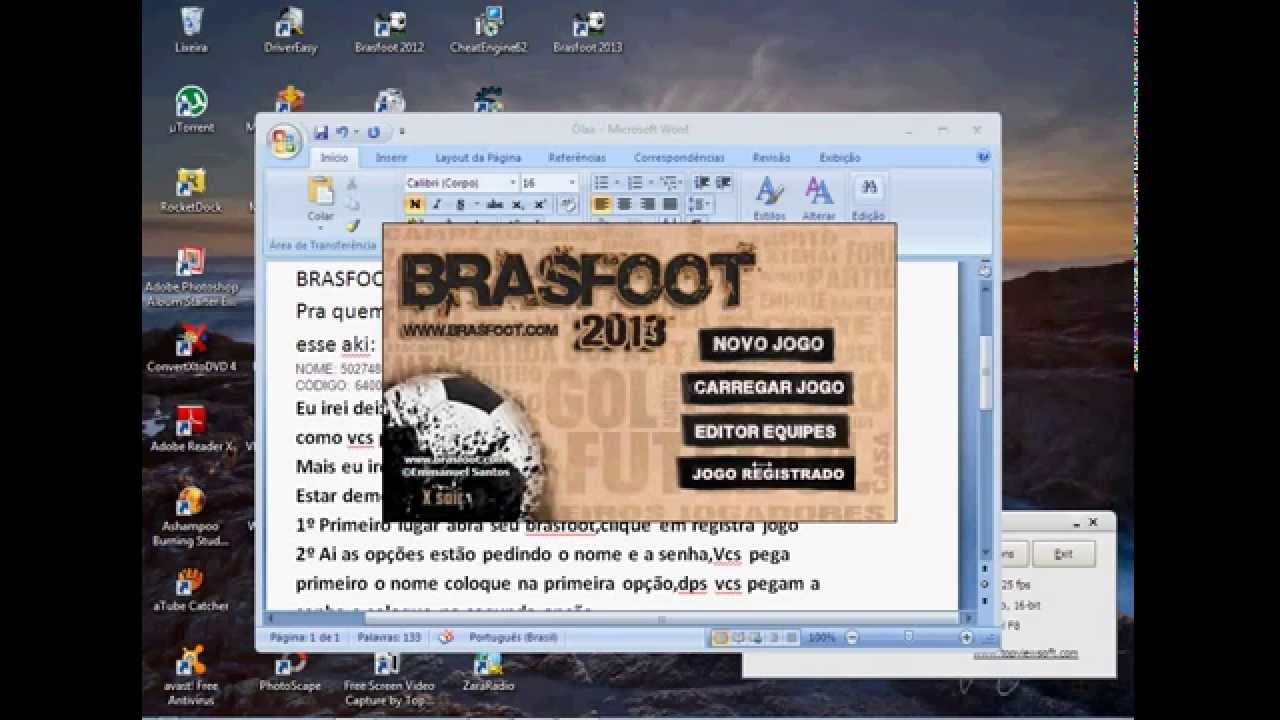 GRATUITO AS 2013 TODAS BRASFOOT REGISTRADO LIGAS COM E DOWNLOAD