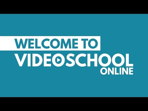 Video School Online - YouTube Channel
