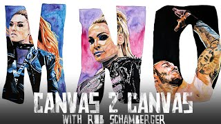 The ABCs of WWE – Becky Lynch, Natalya & Randy Orton: WWE Canvas 2 Canvas