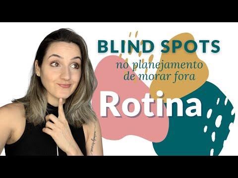 """Rotina morando fora do Brasil! """"Pontos cegos"""" que afetam o planejamento."""