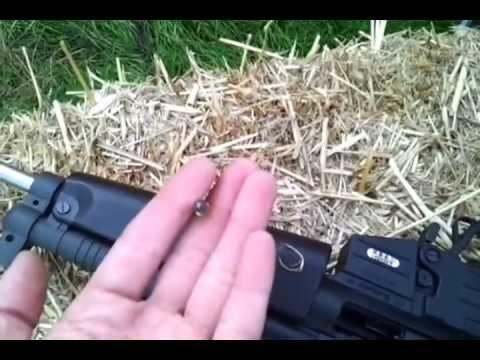 GSG 522 silencer test
