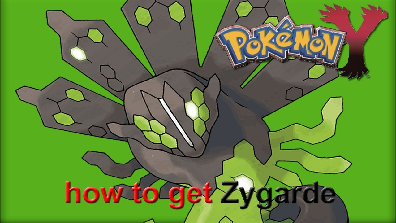Zygarde pokemon x