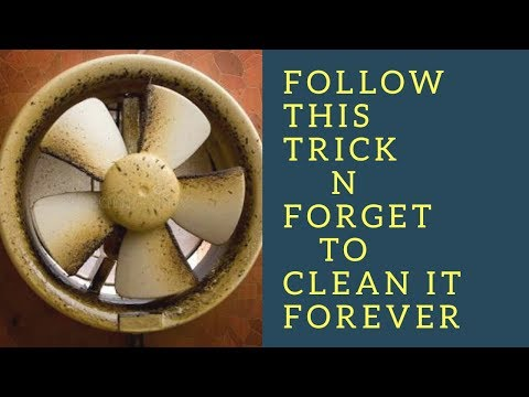 How to clean exhaust fan | kitchen Exhuast fan cleaning | Little Things To Share