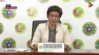 Department of Health updates on coronavirus in the Philippines | Wednesday, June 3