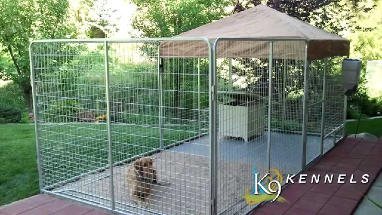 dog kennel ideas k9 kennel store youtube - Dog Kennel Design Ideas