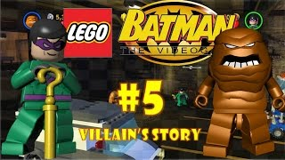 LEGO Batman: The Videogame (DS) - Part 5: [Villain's Story 1/2] The Bullion Dollar Riddle