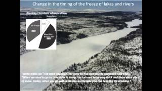 John Mameamskum - Naskapi observations of changes in caribou in the Canadian subarctic
