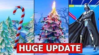 *HUGE UPDATE* CHRISTMAS & STAR WARS UPDATE COMING! FORTNITE NEW UPDATE