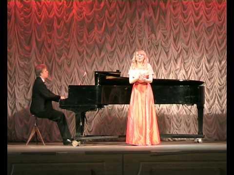 Yulia Rogkova - The Snow Maiden by Rimsky-Korsakov, Yuri Martianov vocal school