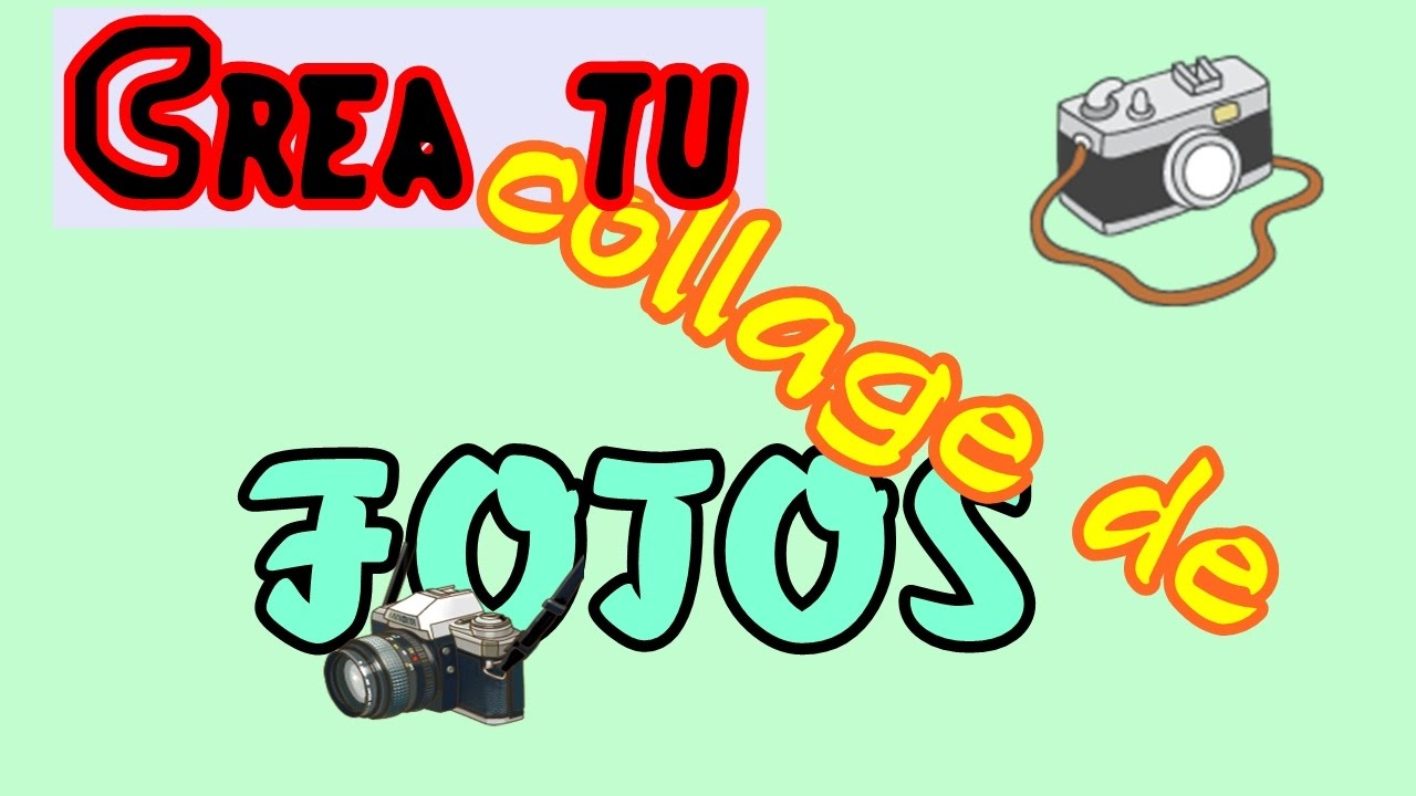Cómo hacer un collage de fotos en Wondershare filmora - YouTube