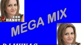 ΕΦΗ ΠΑΝΟΥ MEGA MIX DJ MHNAS 2014