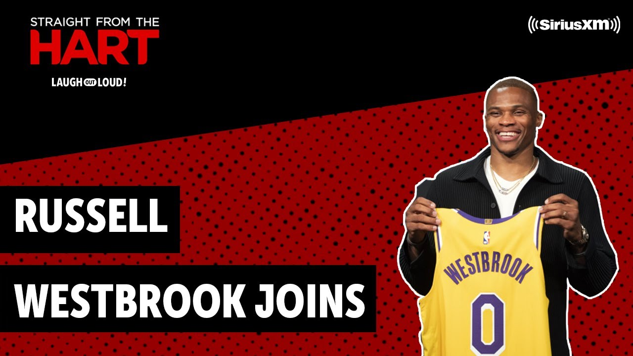 LA Laker Russell Westbrook Joins In | Straight From the Hart | Laugh Out Loud Network