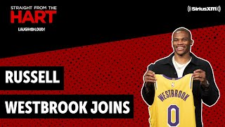 LA Laker Russell Westbrook Joins In | Straight From the Hart