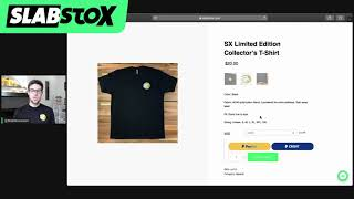 LIVE: SlabStox Limited Edition T-Shirt (48 Hours ONLY)
