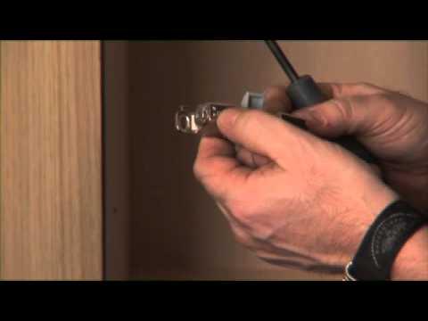 Modular Range   Fitting Door Hinge Soft Closures On Corner Wardrobes
