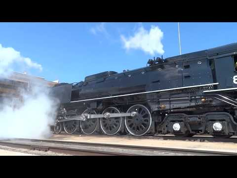 Union Pacific 844 2017 Break In Run Part 1 YouTube