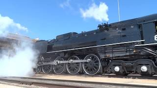 Union Pacific 844 2017 Break-In Run Part 1