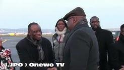 (JPO ) Arrivée du Président Fatshi à Zurich / Suisse