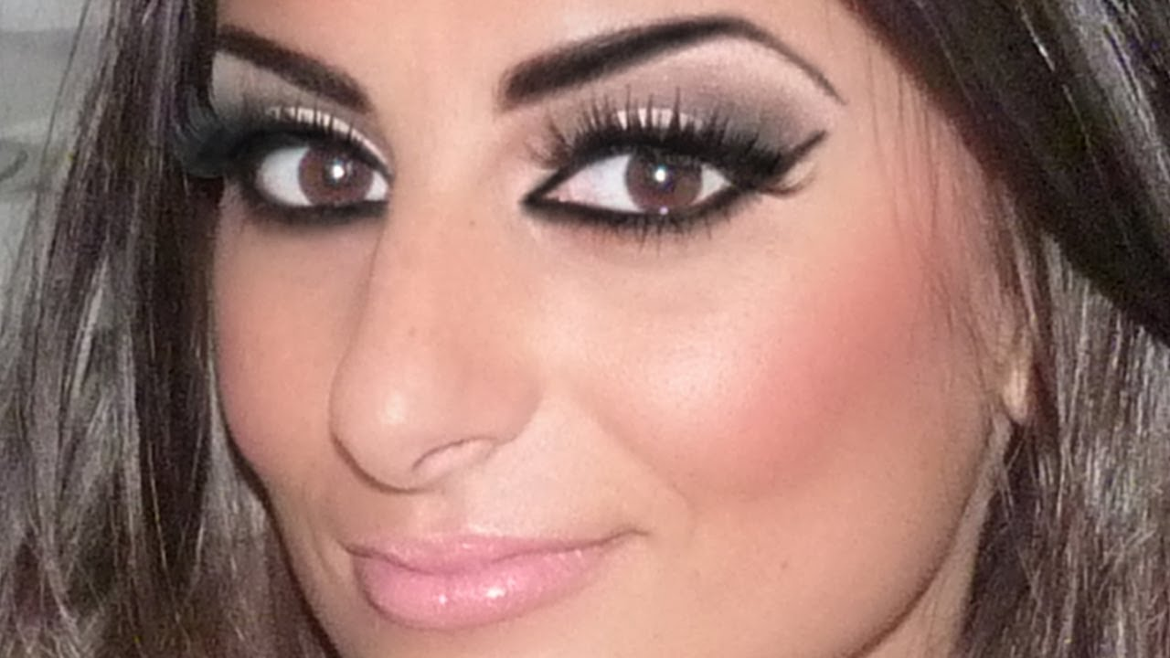 Maquillage Libanais  Arabic Makeup  YouTube