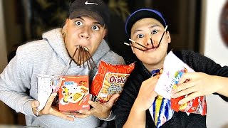 TASTING WEIRD ASIAN SNACKS