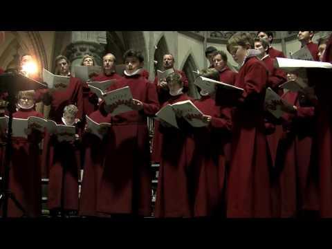 """Choir of New College, Oxford """"Pie Jesu"""" aus """"Requiem"""" Gabriel Fauré (Cantate Domino Aalst 2014)"""