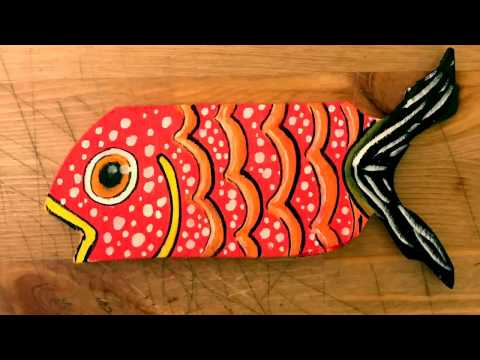 Wood Art Fish
