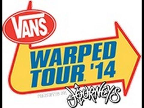 Vans Warped Tour 2014 Nashville TN July 29th