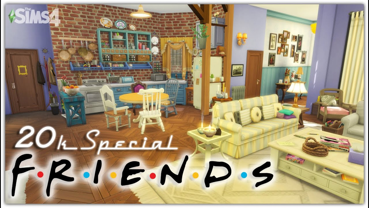 Monica & Rachel's Apartment From Friends | 20K Sub SPECIAL ...