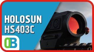 Коліматорний приціл HOLOSUN Paralow HS403C - розпакування, огляд, випробування