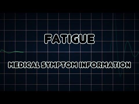 Fatigue (Medical Symptom)