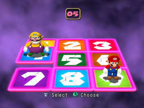 Mario Party 4 minigame: Panels of Doom 60fps