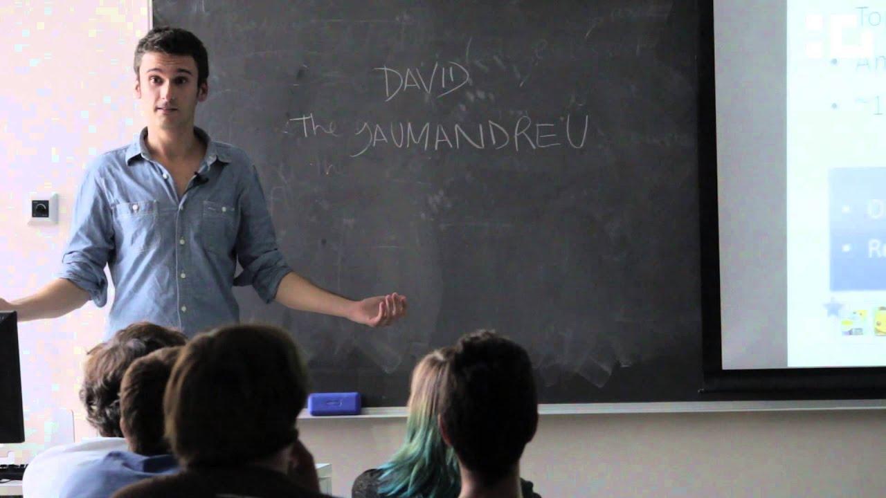 Сеус с преподавателем