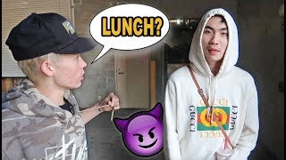 FINALLY Taking RiceGum to Lunch! *FIRST TIME MEETING*