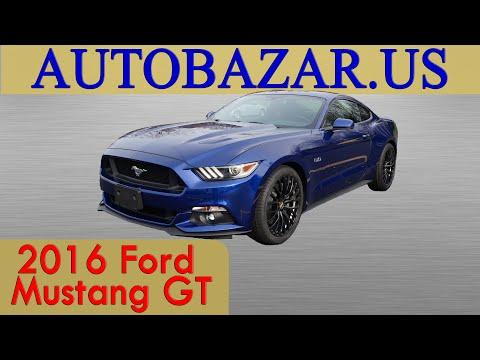 2016 Ford Mustang GT Видео. Тест драйв Форд Мустанг GT 2016. Авто из США.