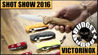 Victorinox Swiss Army Knives | SHOT Show 2016 -- Wounded Warrior & NEW Swiss Army Knives!