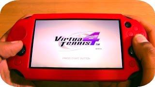 PS Vita: Virtua Tennis 4 Initial Gameplay Impressions!
