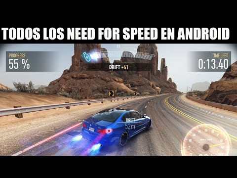 Todos los Need For Speed Existentes para Android + Links 2017