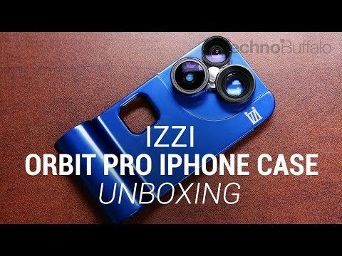 iZZi Orbit Pro iPhone 5/5s Lens Case Unboxing