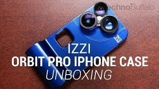 iZZi Orbit Pro iPhone 5/5s Lens Case Unboxing