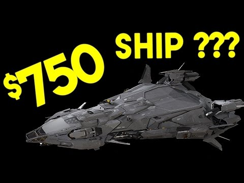 $750 Star Citizen Capital Ship - Did I Buy One ??? (RSI Polaris Opinion Video)