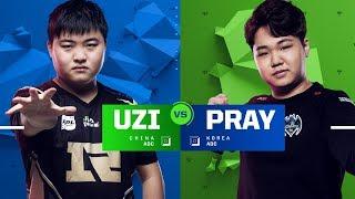 Uzi vs. Pray | Semifinals | 1v1 Tournament | 2017 All-Star Event
