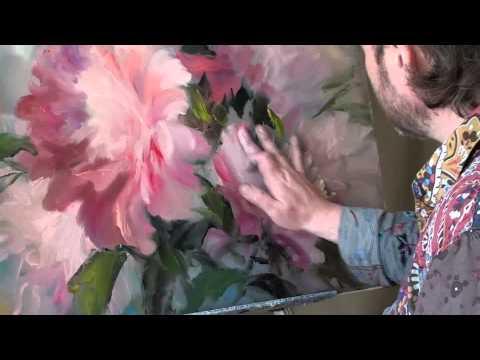 Уроки живописи маслом игоря сахарова видео бесплатно пионы