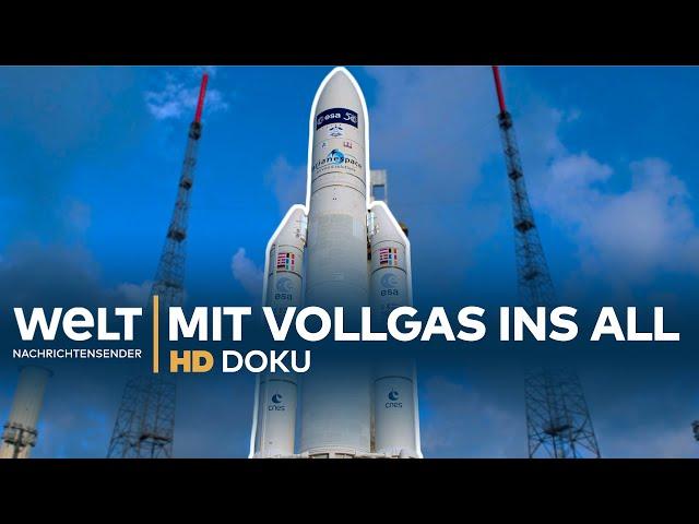 Erfolgsgeschichte Ariane 5 - Mit Vollgas ins All | HD Doku